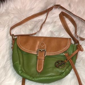 Giani Bernini New Leather Flap crossbody bag